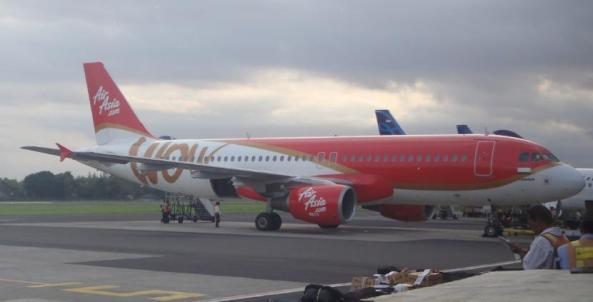Airasia wow di bandara Adisucipto Yogyakarta